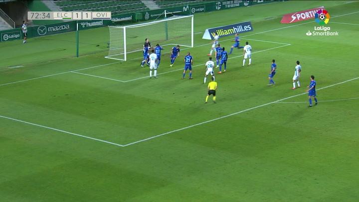 Gol  Elche C.F. - Real Oviedo J42 LUNIN