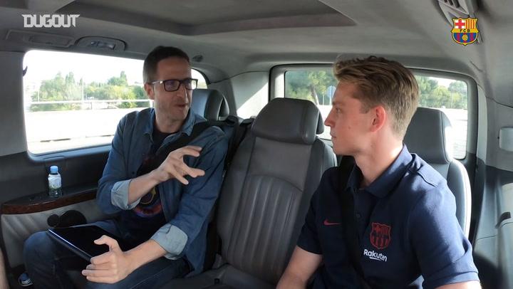 De Jong's funniest moments at Barça