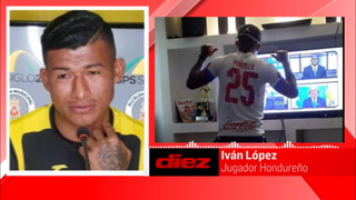 En exclusiva, Chino López aclara por qué se puso camisa de Olimpia mientras concreta fichaje con Motagua