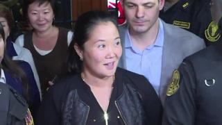 Posponen audiencia de prisión preventiva de Keiko Fujimori