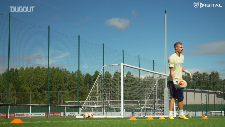 Bernd Leno returns to Arsenal training