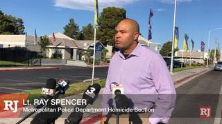Las Vegas police investigate homicide – Video