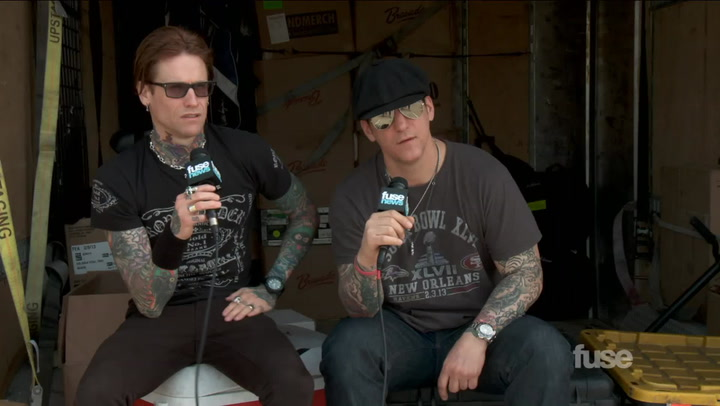 Festivals:Rock On The Range 2013: Buckcherry on the Most Problematic 7 Deadly Sins