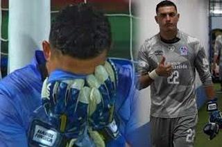 Harold Fonseca, portero del Olimpia: