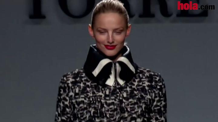 Fashion Week Madrid otoño-invierno 2014-2015: Roberto Torretta
