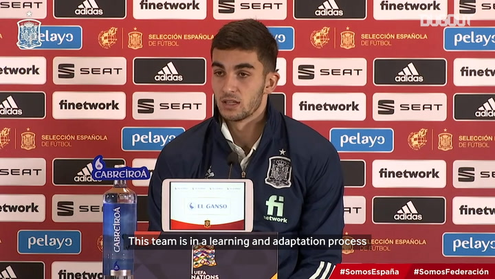 Ferran Torres: 'I'm very happy for my first hat-trick'