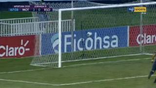 Carlos Mejía pone el 3-0 para Motagua