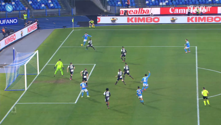 SSC Napoli's best goals of 2020