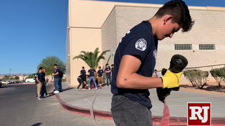 Bonanza High School prepares students to be firefighters – VIDEO