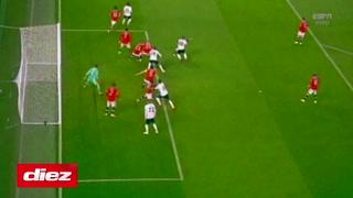 Demiral a los 29 minutos anota el segundo para el Atalanta y se impone ante el Manchester United