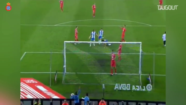 Philippe Coutinho's chipped goal for RCD Espanyol