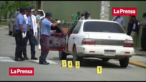 Acribillan a un pastor dentro de su carro en San Pedro Sula