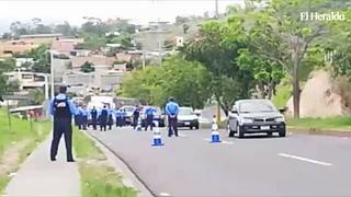 Policía Nacional realiza fuertes operativos para evitar disturbios en las calles de Tegucigalpa
