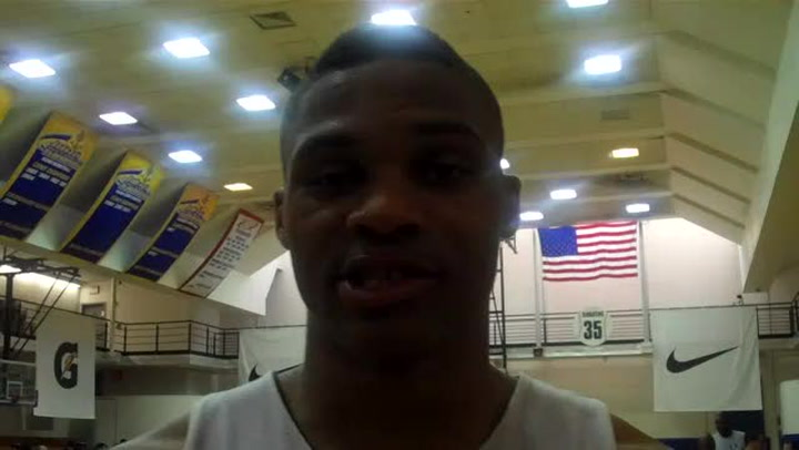 Russell Westbrook on the WBF