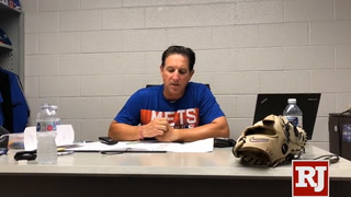 51s coach Tony Defrancesco talks about the loss to Reno