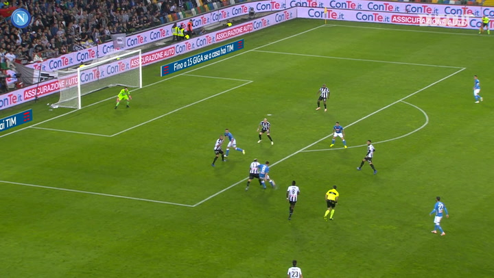 SSC Napoli's best goals at Udinese