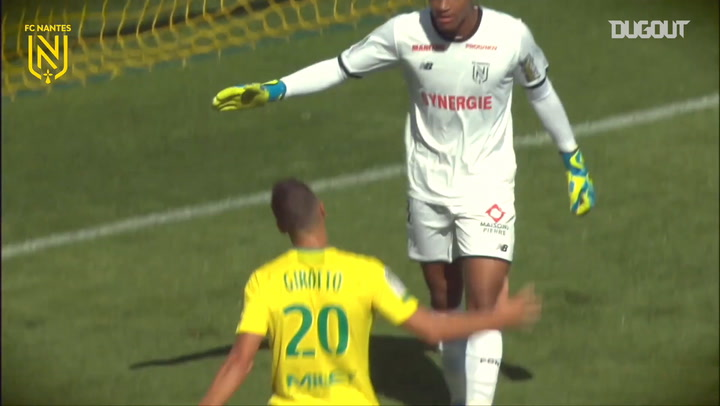 FC Nantes' best saves of the 2019-20 season