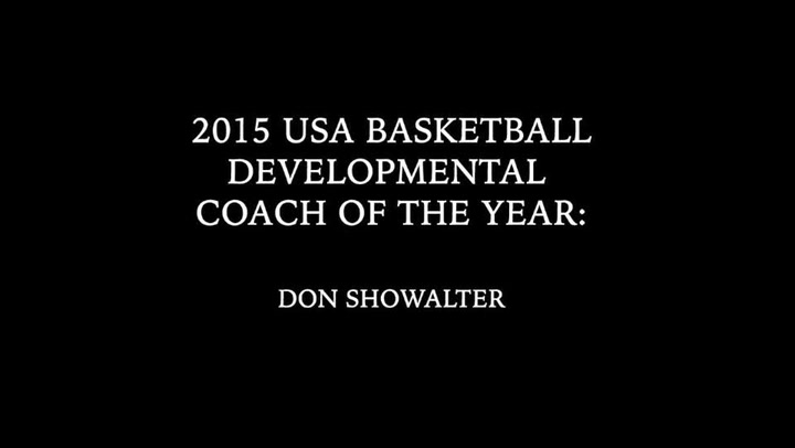 2015 USA Basketball Developmental Coach of the Year