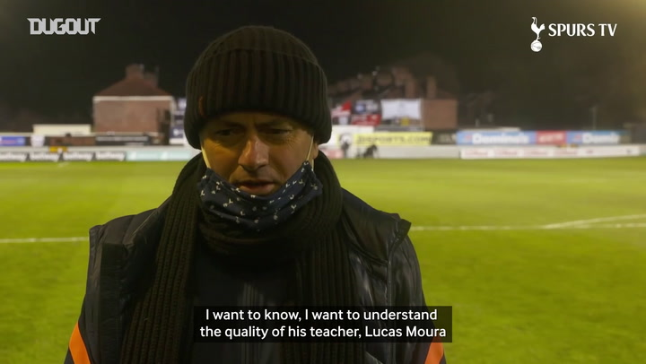 Mourinho reveals Carlos Vinicius learning English from Lucas Moura