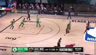 Con 37 puntos del novato Tyler Herro, los Heat se imponen 3-1 ante Celtics en la final del Este
