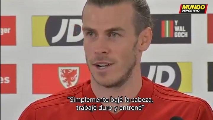 Gareth Bale comenta su accidentada pretemporada con el Real Madrid