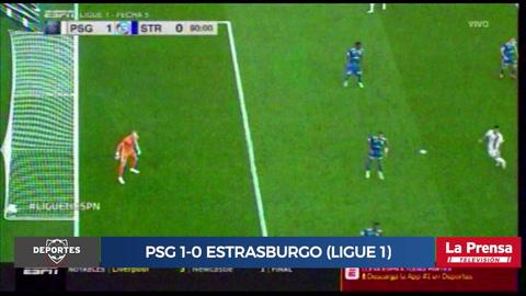 PSG 1-0 Estrasburgo (Ligue 1)