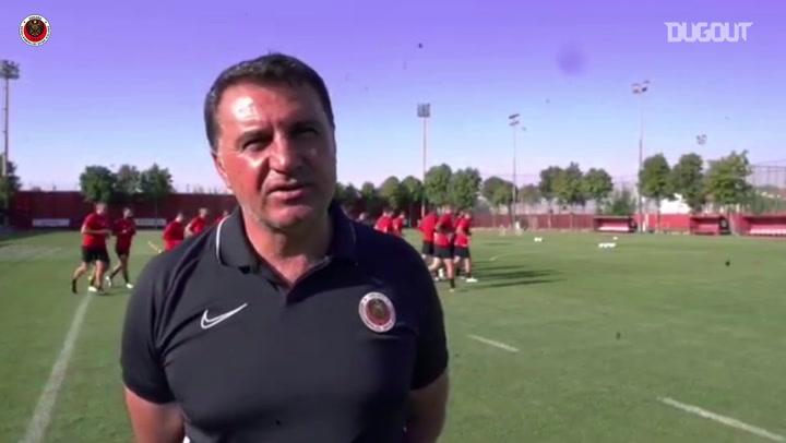 Gençlerbirliği Teknik Direktörü Mustafa Kaplan Röportajı