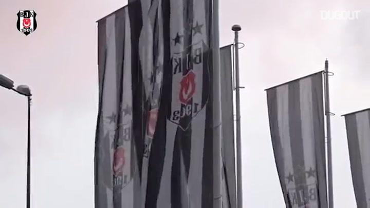 Taraftardan Beşiktaş'a Ziyaret