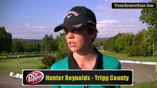 Reynolds on State Golf First Round