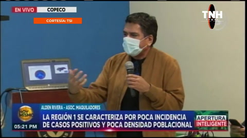 Comparecencia de prensa sobre la reactivación de la economía en Honduras