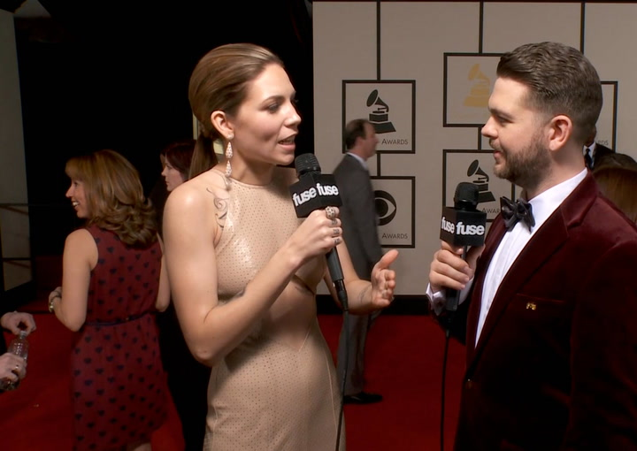 "Shows: Grammys 2014:  Skylar Grey Hints at Jam-Packed Year: ""The Calls Keep Coming In"""