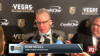 Golden Knights Assistant Coach On Win In Edmonton