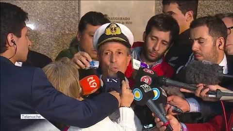 La Armada descartó que un ruido detectado provenga del submarino