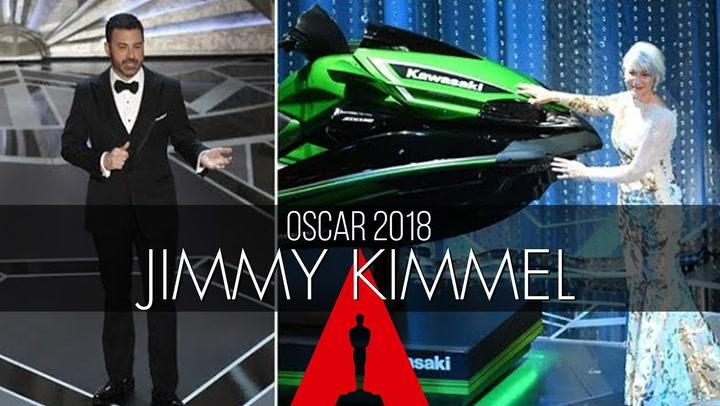 La estrategia de Jimmy Kimmel para que los discursos en los Oscar no sean eternos