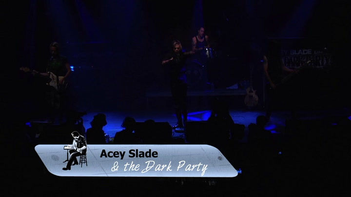 Acey Slade & The Dark Party is interviewed on The Jimmy Lloyd Songwriter Showcase