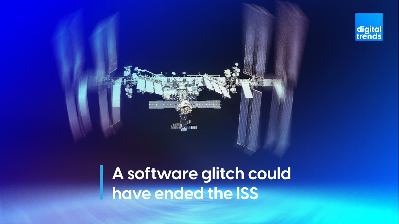 A software glitch could have ended the ISS