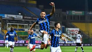 Con doblete de Alexis Sánchez, Inter derrota a Parma y se aleja en la cima en Serie A