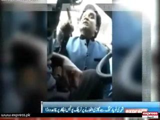 کراچی میں ٹریفک پولیس کے ساتھ بدسلوکی کے واقعات میں اضافہ ۔۔۔ تفصیل جانئیے اس رپورٹ میں