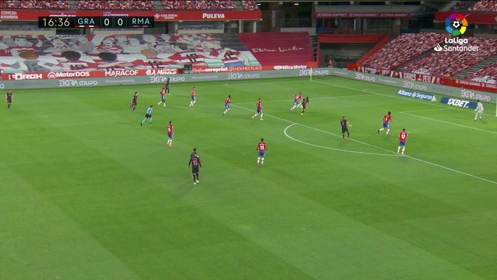 Gol de Modric (0-1) en el Granada 1-4 Real Madrid