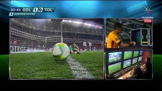 El polémico gol que anuló el VAR en México en el juego entre Chivas y Toluca