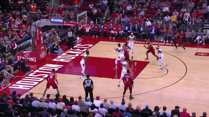 James Harden (Rockets), el más destacado de la jornada de la NBA del 2 de febrero 2020