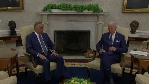 Biden anuncia nueva fase en relación con Irak y fin de misión de combate