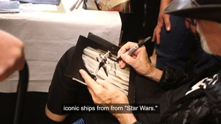 Colin Cantwell, Creator Of Iconic Star Wars Ships Visits Vegas