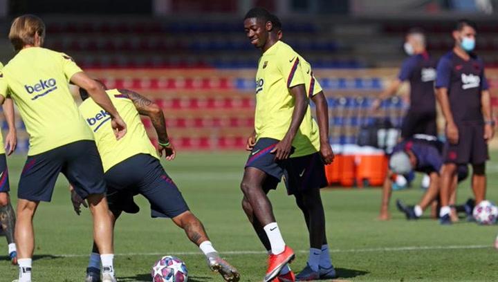 El Barça prepara el encuentro contra el Nápoles