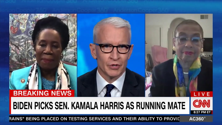 Holmes Norton: Nobody Went After Biden 'The Way that Kamala Harris Did' - Biden 'Doesn't Hold Grudges'