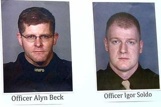 Two Metro officers shot in northeast Las Vegas identified (June 9, 2014)
