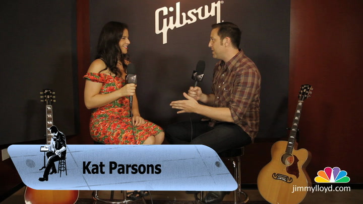 Kat Parsons is interviewed on The Jimmy Lloyd Songwriter Showcase