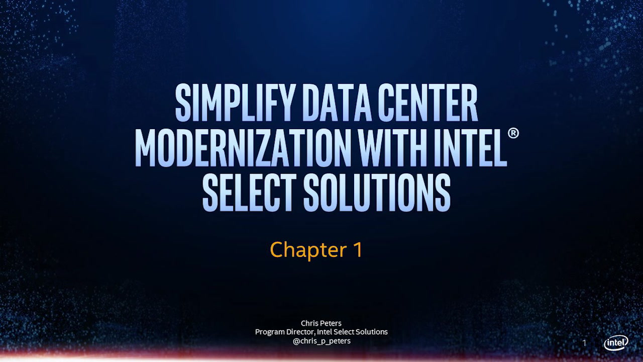 Chapter 1: Intel® Select Solutions: Industry Landscape