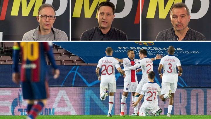 Analizamos la derrota del Barça ante el PSG