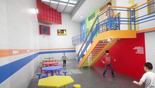 Así será la nueva cárcel de menores que se construye en Cedros